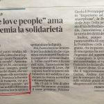 """Il supermercato Alì di Tresigallo con l'iniziativa """"We love people"""" premia la Buonincontro"""